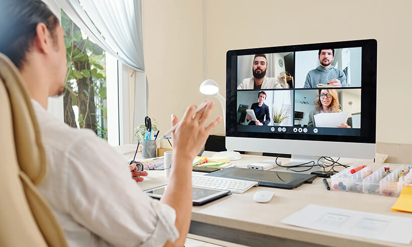 What is a virtual meeting room?