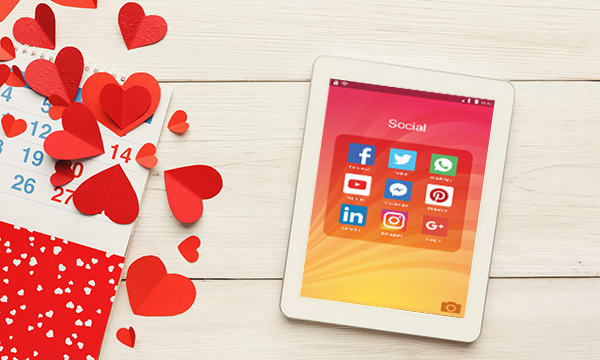 Express Your Love This Valentine's for Your Customers via Social Media