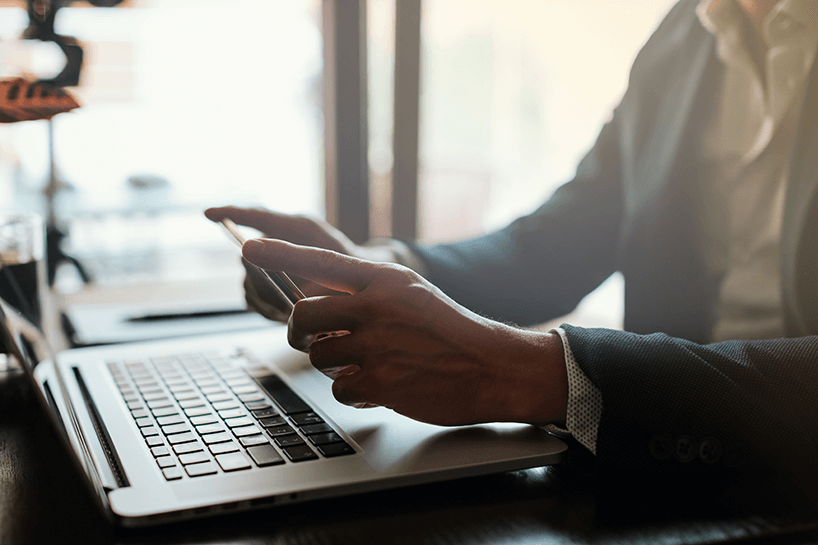 How can financial agencies remotely connect to their customers?