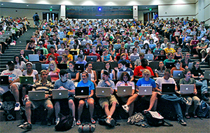 Add Live Chat to you Website - students on laptop