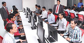 Office pc with live chat software
