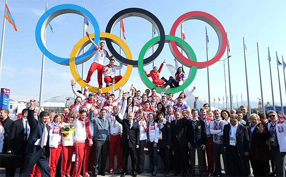 The Olympics are Starting
