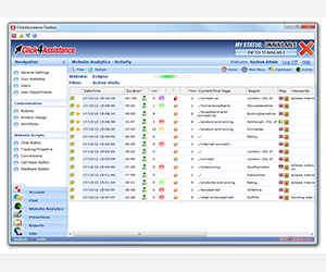 Online Chat Software - IP Blacklist for Better Website Traffic Quality