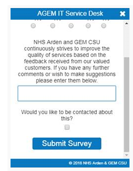 NHS Arden and GEM CSU implemented chat for website