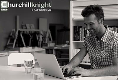 Churchill Knight's chat on your website software helps customers faster