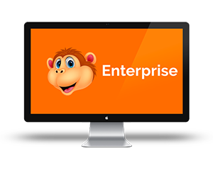 Chat Monkey's Live Chat on Website Enterprise Package