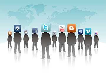 live chat software through social media