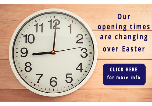 Live chat for your website promotions can help display changes in opening times