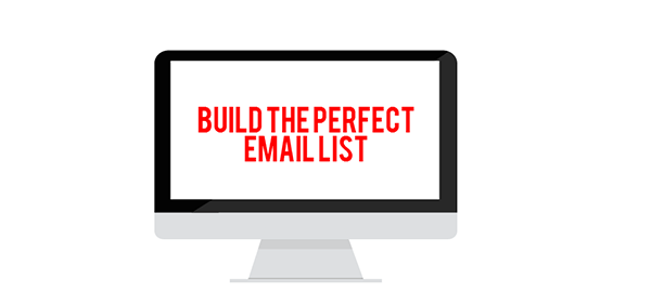 Email list building infographic