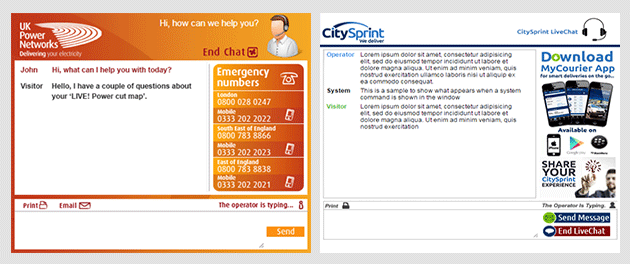 Best Live Chat Customer Pop Up Windows