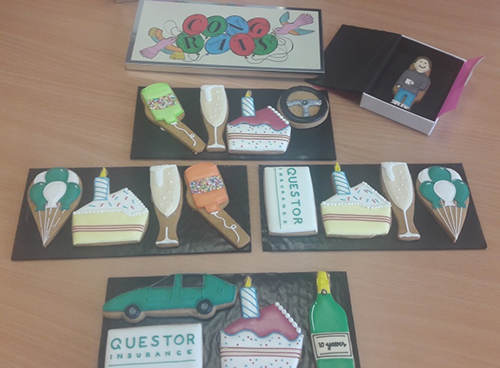 Questor Insurance Biscuits for using chat on your website for 10 years