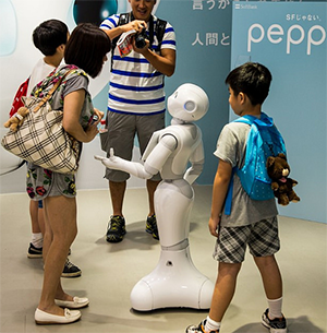 best live chat japanese robot