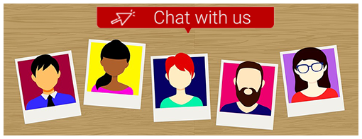 live chat on website routes to relevant department