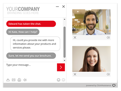 The UK's best live chat provider offers video chat